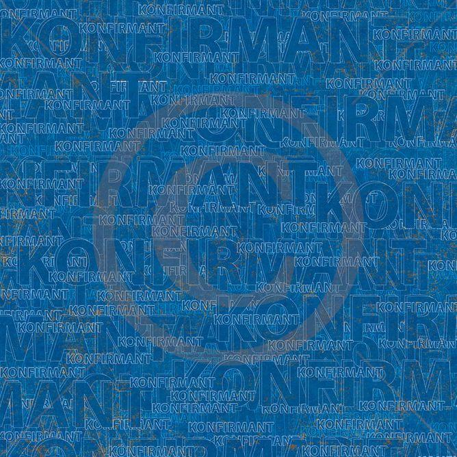 Papirdesign 12'' x 12'' mønsterark - Håpfull - Ung og fri