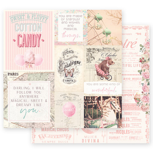 Prima Marketing - Dulce Collection - 12 x 12 Paper - Some Kind Of Wonderful with Foil Accents #995638