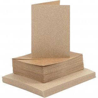 5 Kort & Konvolutter / Cards & Envelopes ( 10.5x15cm / 4