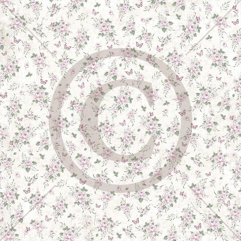 Papirdesign 12'' x 12'' mønsterark - Håpfull - Ven og vakker