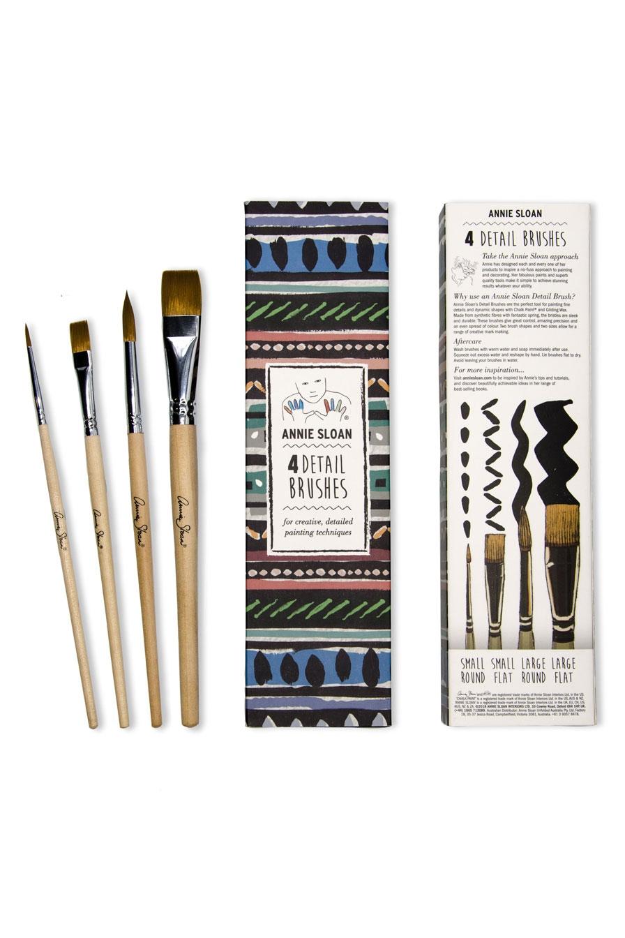 Annie Sloan Detail Brushes / Detaljer Pensler