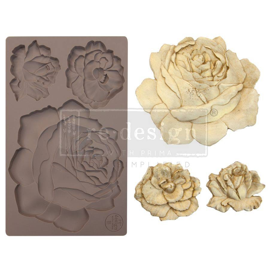 Re-design with Prima Mould - Etruscan Rose