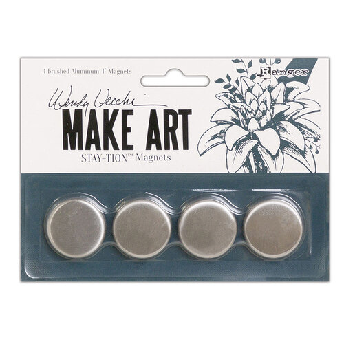 Wendt Vecchi MAKE ART Stay-tion - Magnets