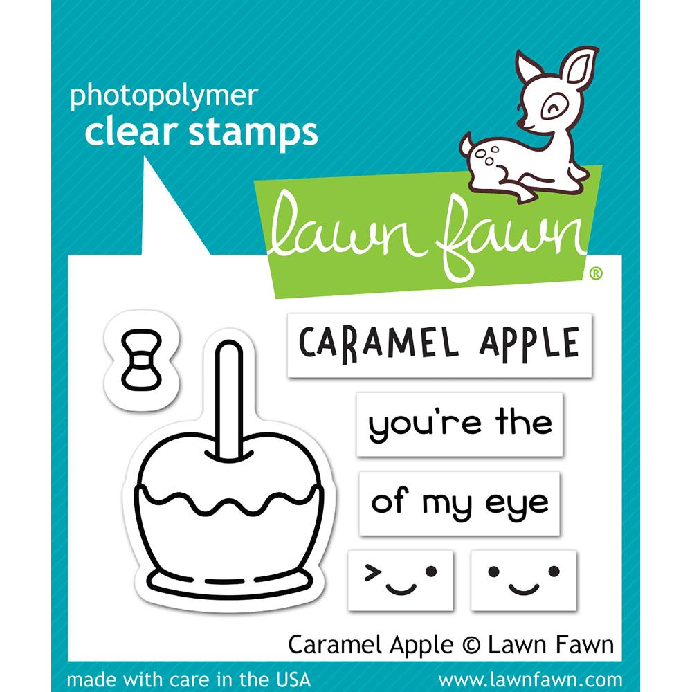 Lawn Fawn Clear Stamps / Klar Stempler - Caramel Apple