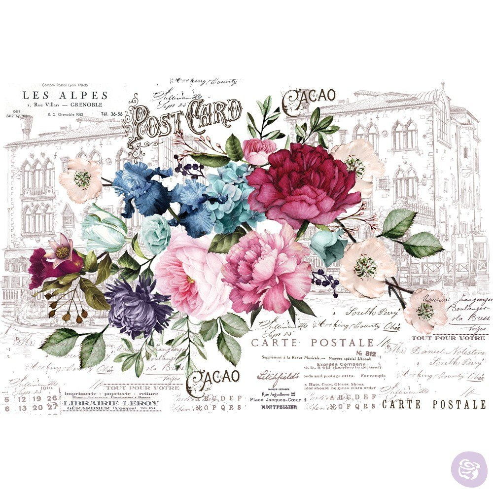 Re-Design with Prima Decor Transfer - Imperial Garden OUT OF STOCK