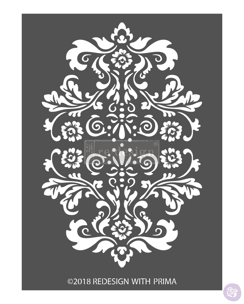 Re-Design with Prima  3D Stencil - Alessandro Flourish