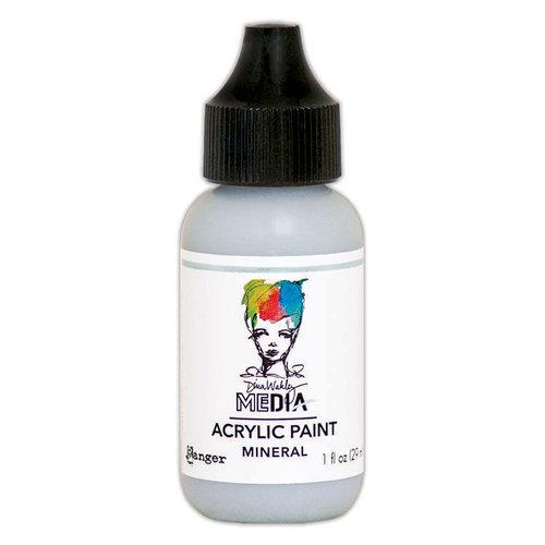 Ranger Ink - Dina Wakley Media - Heavy Body Acrylic Paint - Mineral