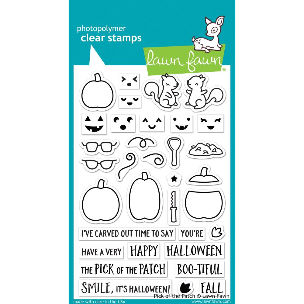 Lawn Fawn Clear Stamps / Klar Stempler - Pick of the Patch