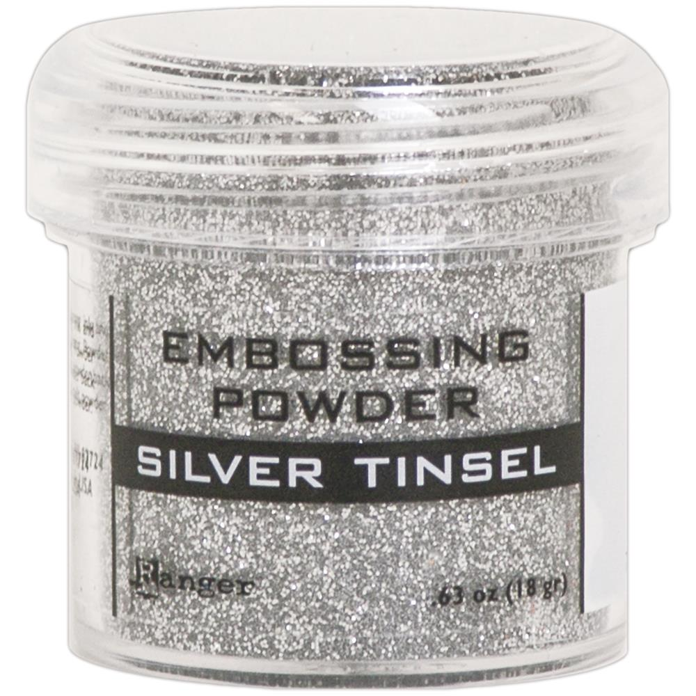Ranger Embossing Powder Silver Tinsel