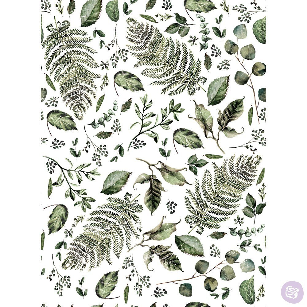 Re-Design with Prima Decor Transfer - Fern Woods OUT OF STOCK