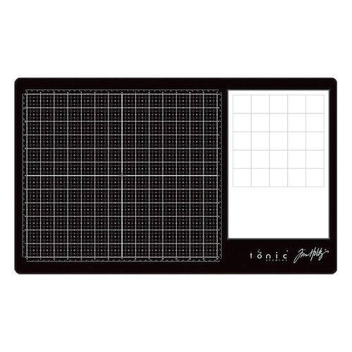 Tim Holtz Glass Media Mat 23.75x14.25 inch