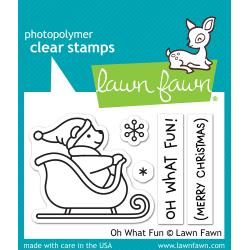 Lawn Fawn Clear Stamps / Klar Stempler - Oh What Fun