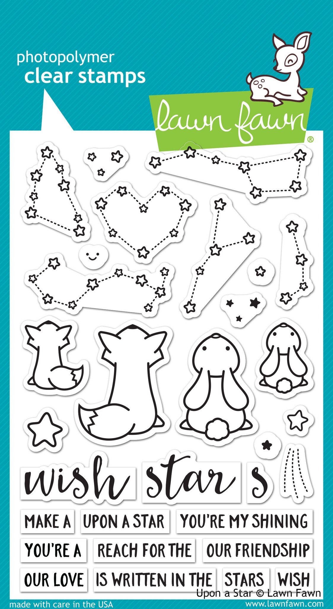 Lawn Fawn Clear Stamps / Klar Stempler - Upon A Star