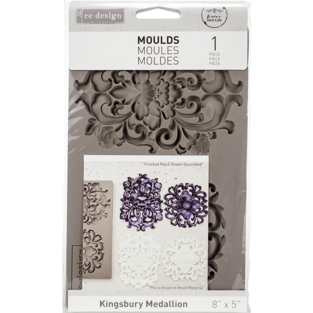 Re-Design with Prima Mould - Kingsbury Medallion