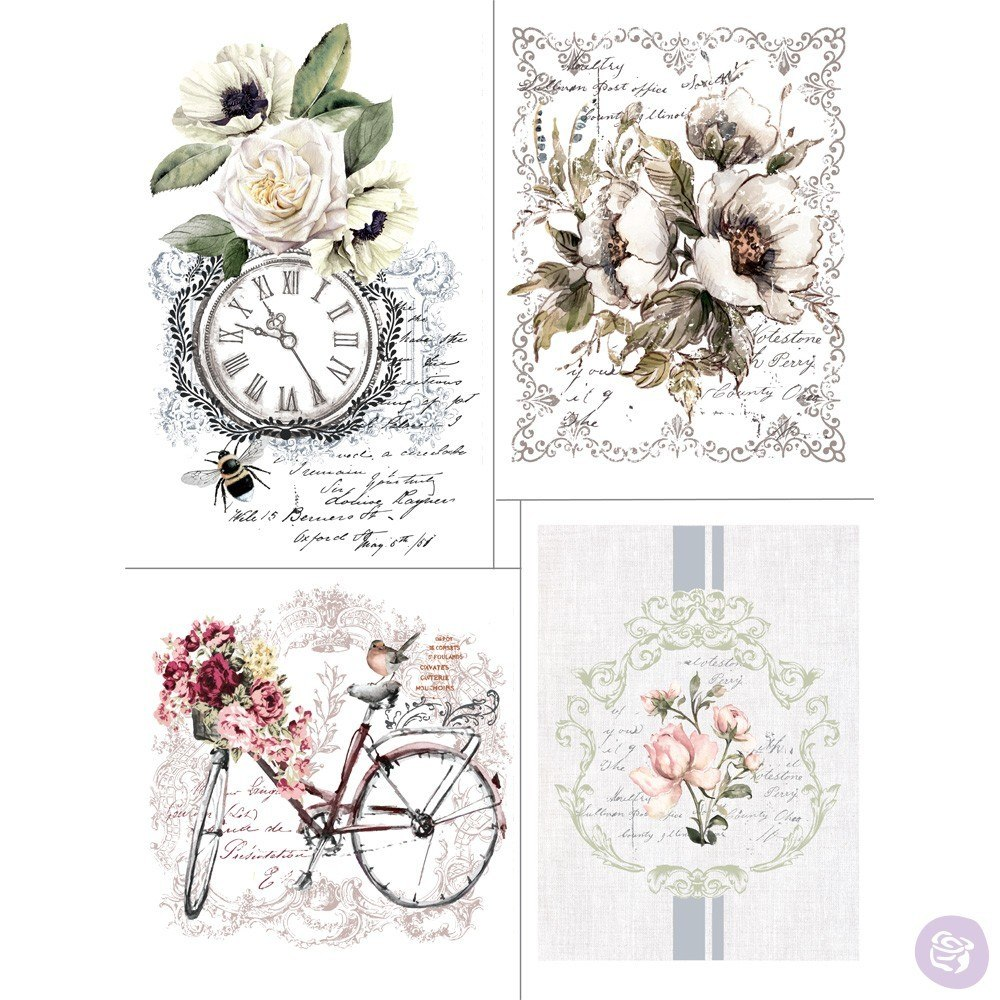 Re-Design with Prima Decor Transfers - Bike Rides OUT OF STOCK