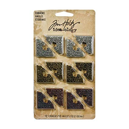 Tim Holtz Idea-Ology Metal Corners