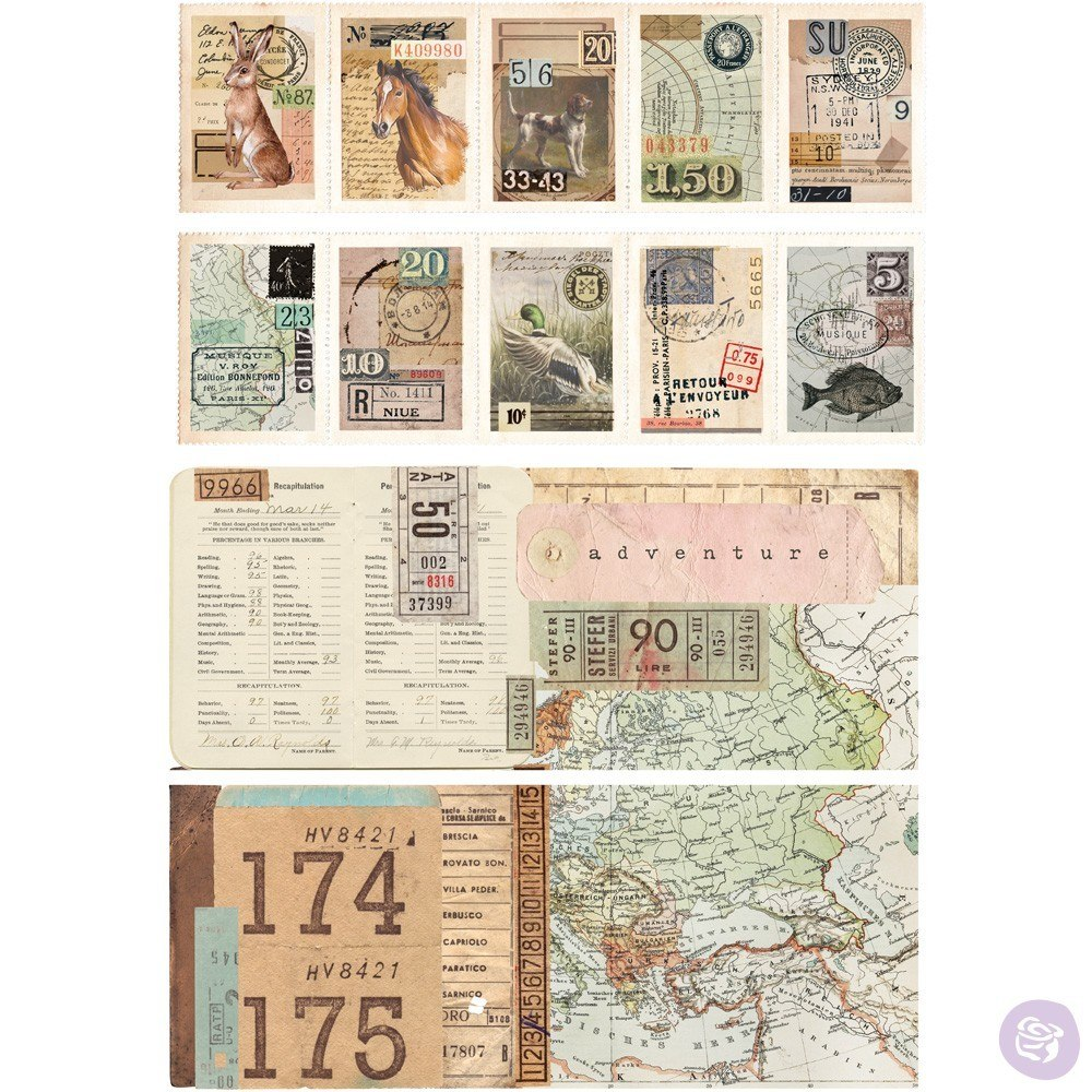 Re-Design with Prima Decor Transfer - Ephemera Collector