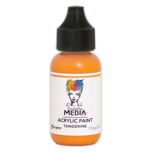 Ranger Ink - Dina Wakley Media - Heavy Body Acrylic Paint - Tangerine