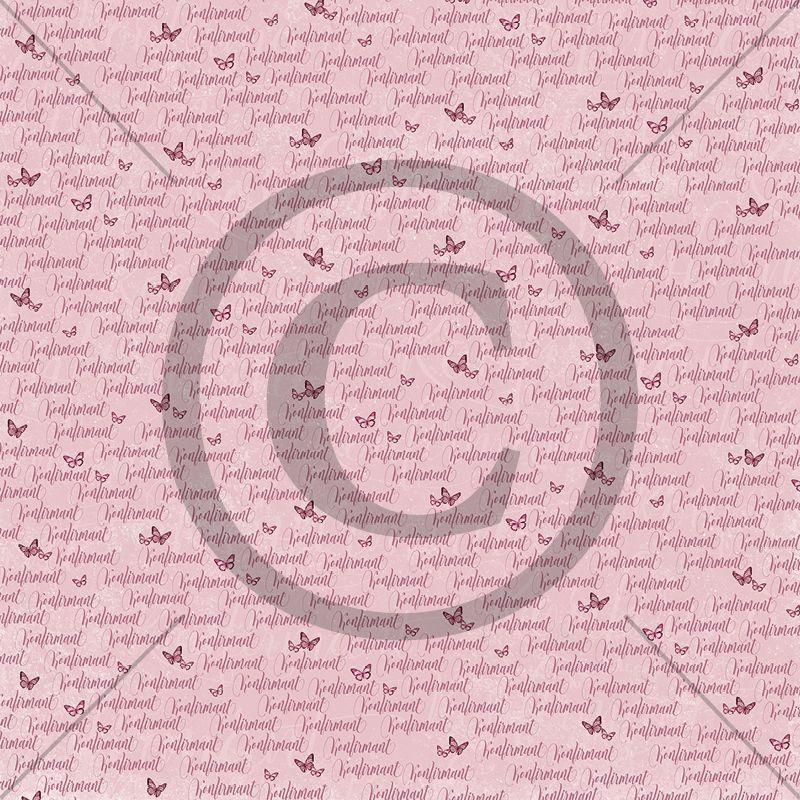 Papirdesign 12'' x 12'' mønsterark - Håpfull - Vårens konfirmant
