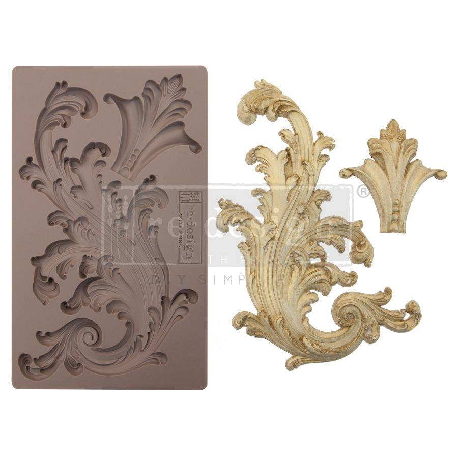 Re-design with Prima Mould - Portico Scroll 2