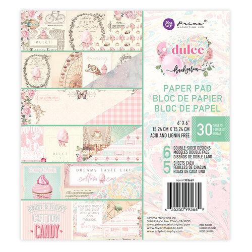 Prima Marketing - Dulce Collection - 6 x 6 Paper Pad #995669