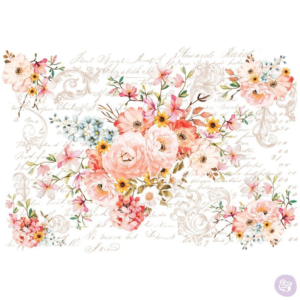 Re-Design with Prima Decor Transfer - Rose Celebration