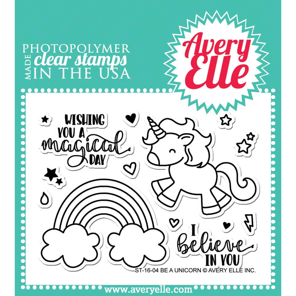 Avery Elle Clear Stamos - Be A Unicorn