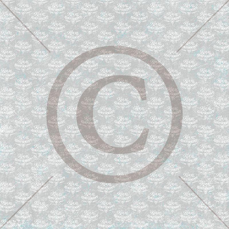 Papirdesign 12'' x 12'' mønsterark - Håpfull - Kjære konfirmant