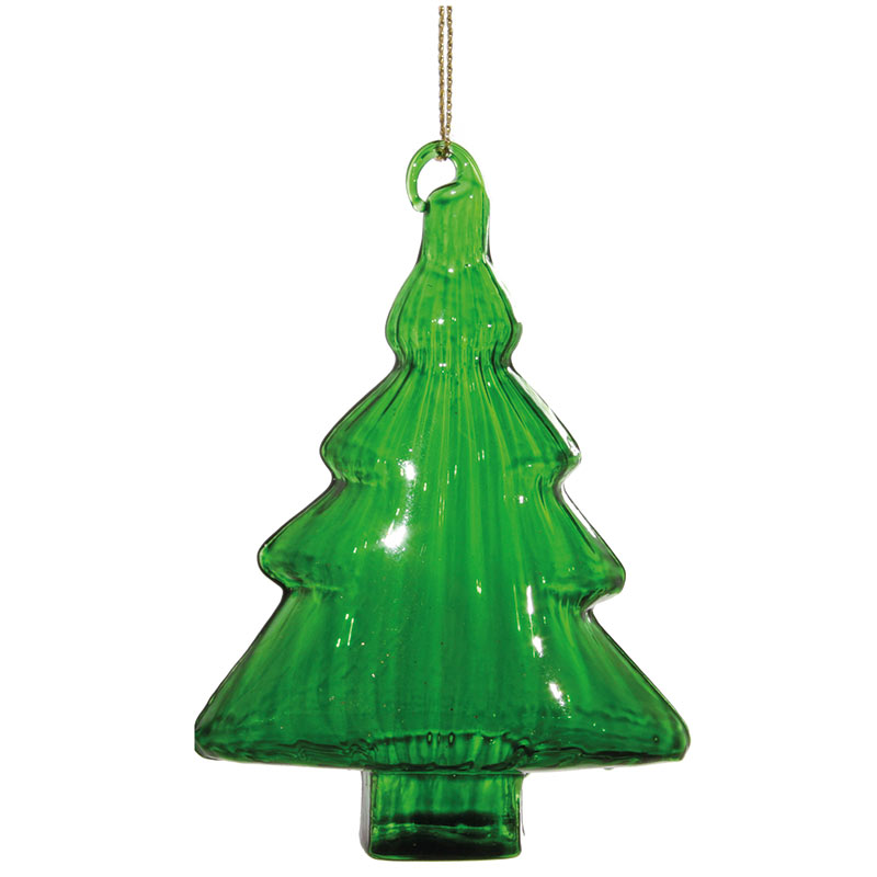 Glasgran grön 8 cm