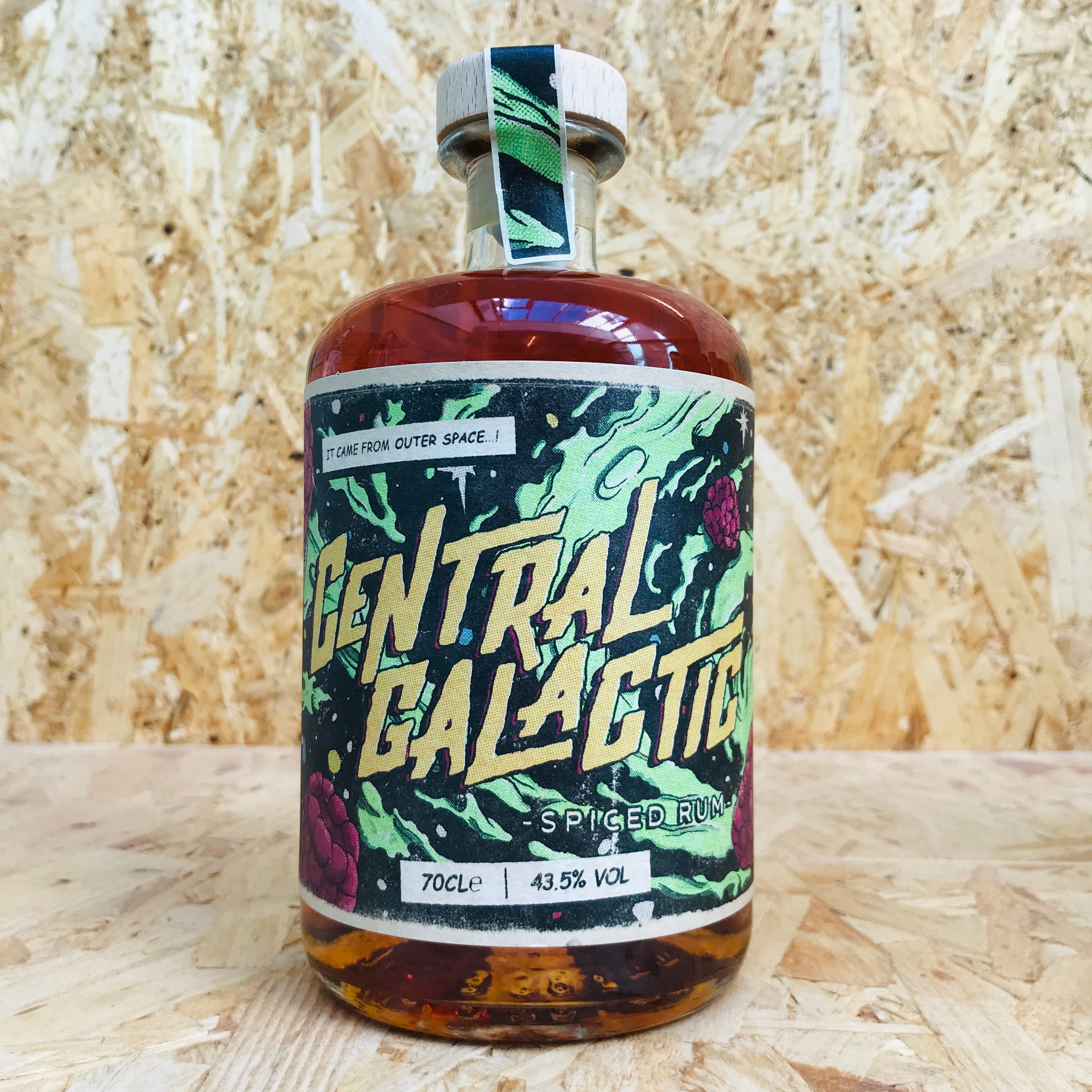 Central Galactic Spiced Rum