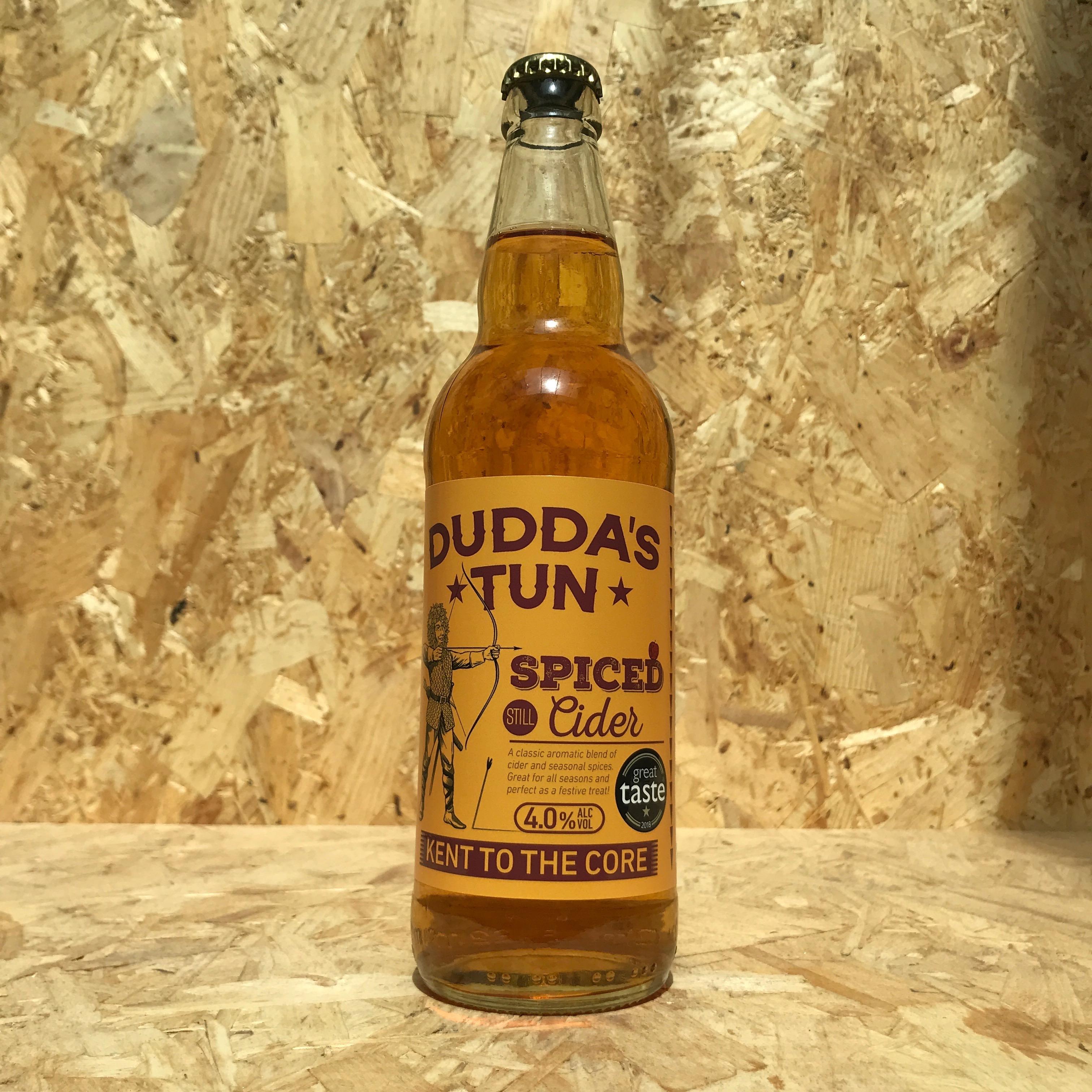 Dudda's Tun - Spiced Cider