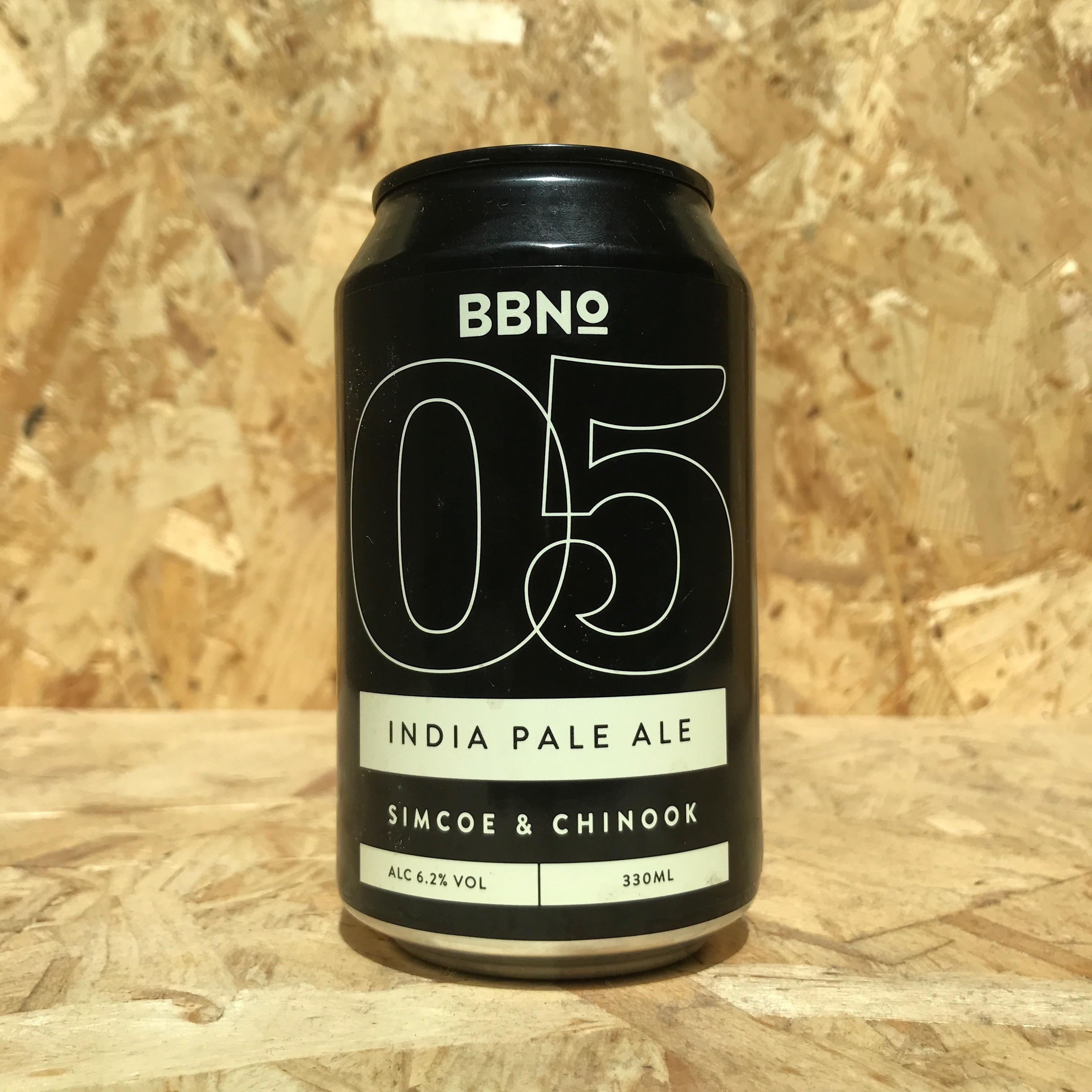 BBNo - 05 India Pale Ale Simcoe & Chinook