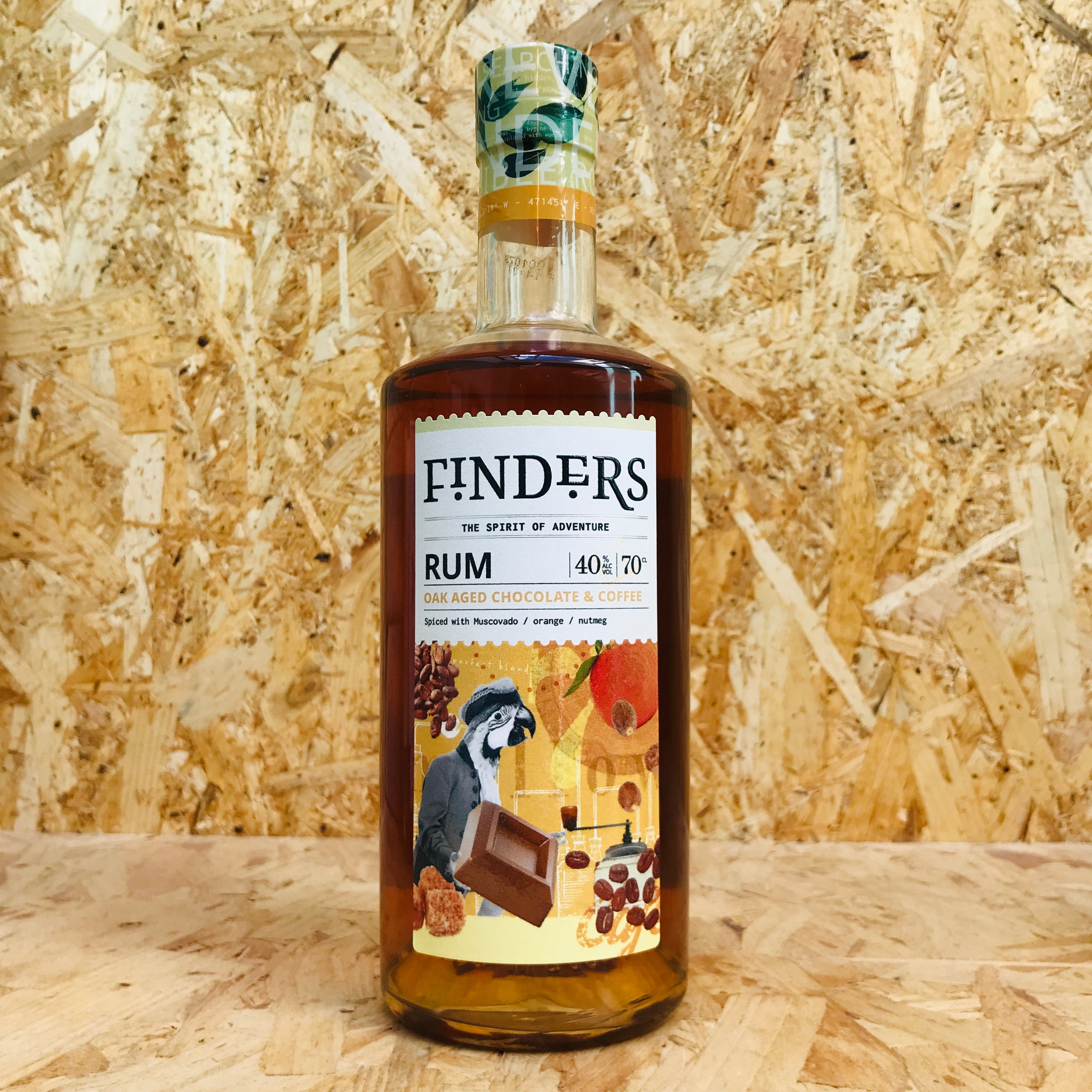 Finders Oak Aged Chocolate & Coffee Spiced Rum