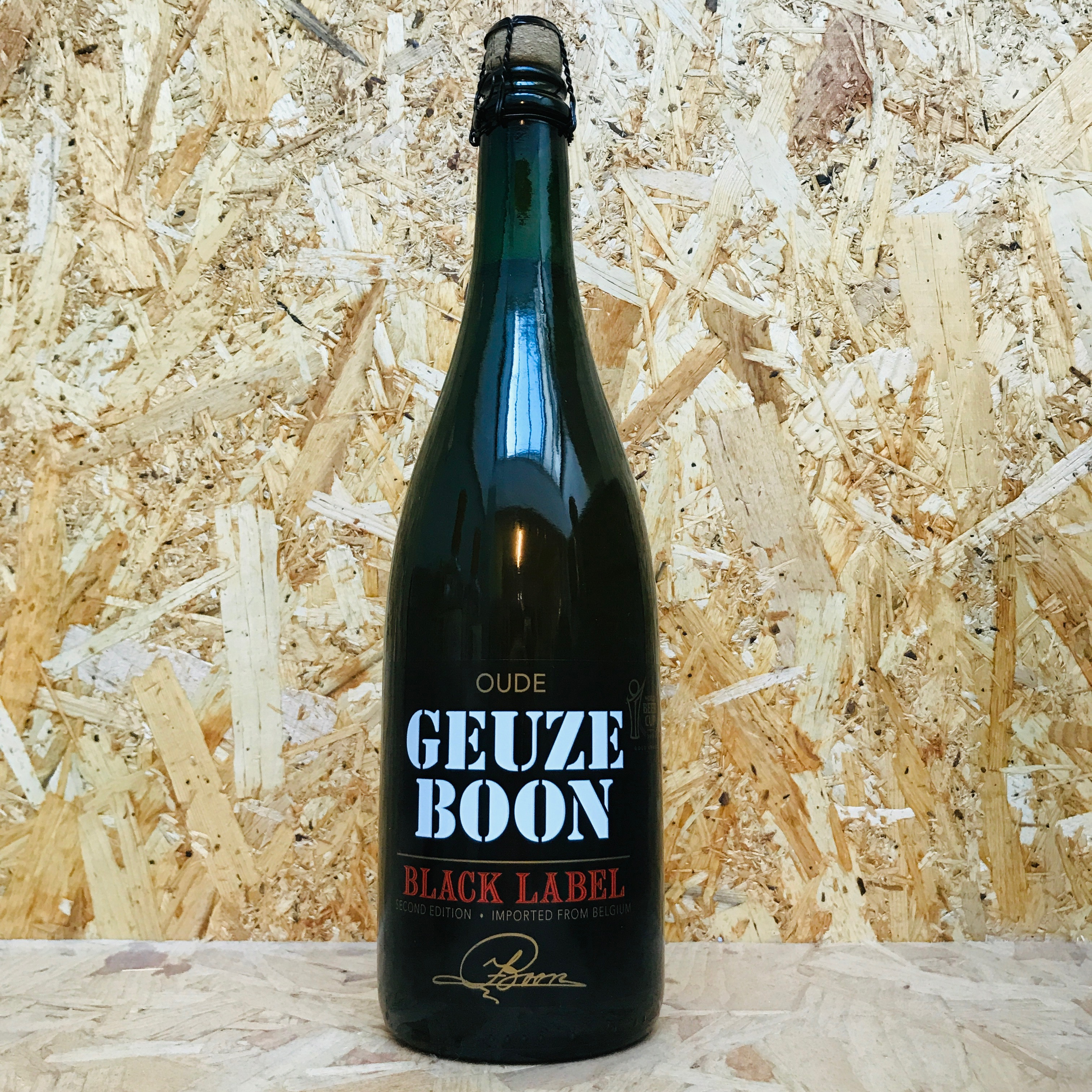 Boon Gueuze - Black Label