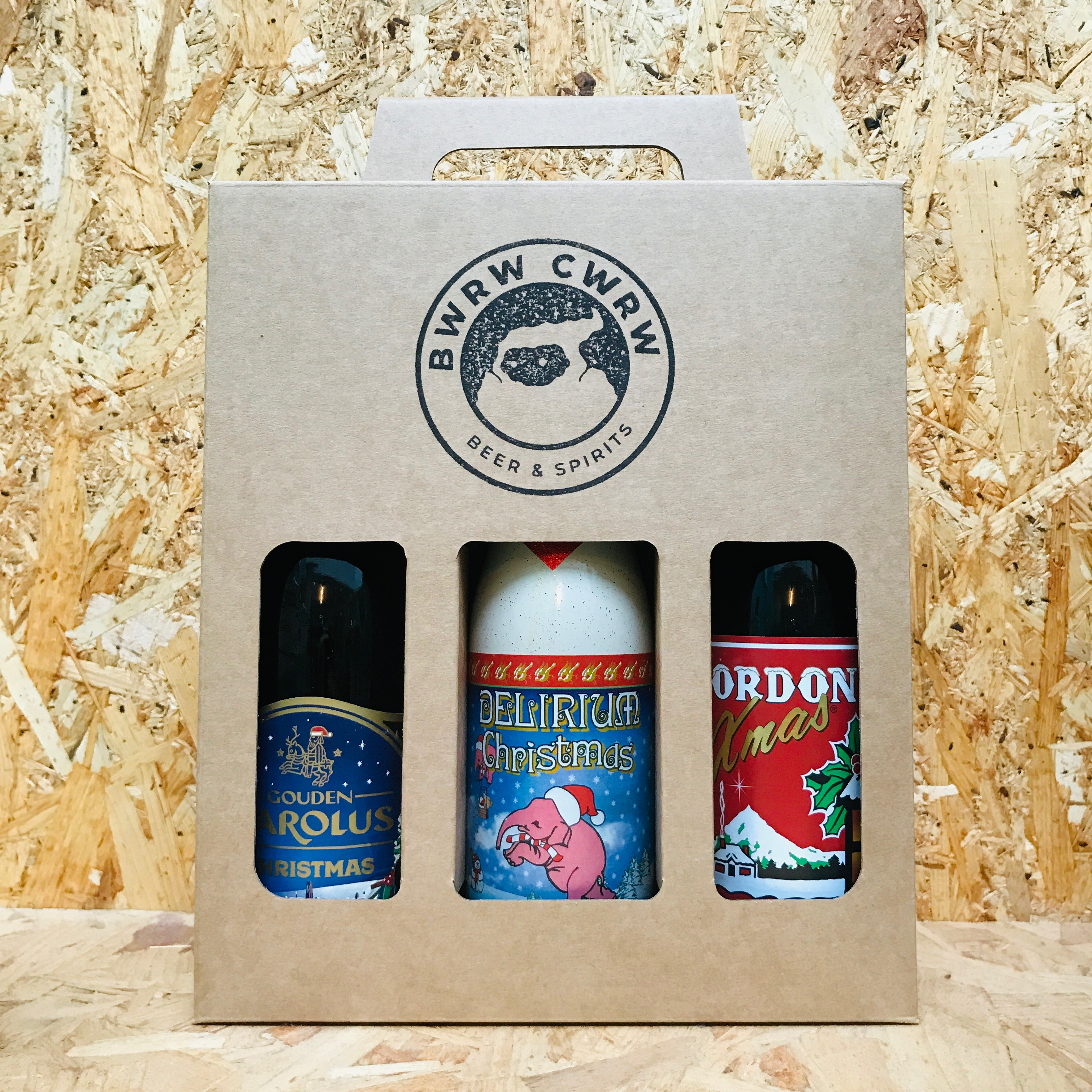 Christmas Belgian Beer Gift Pack