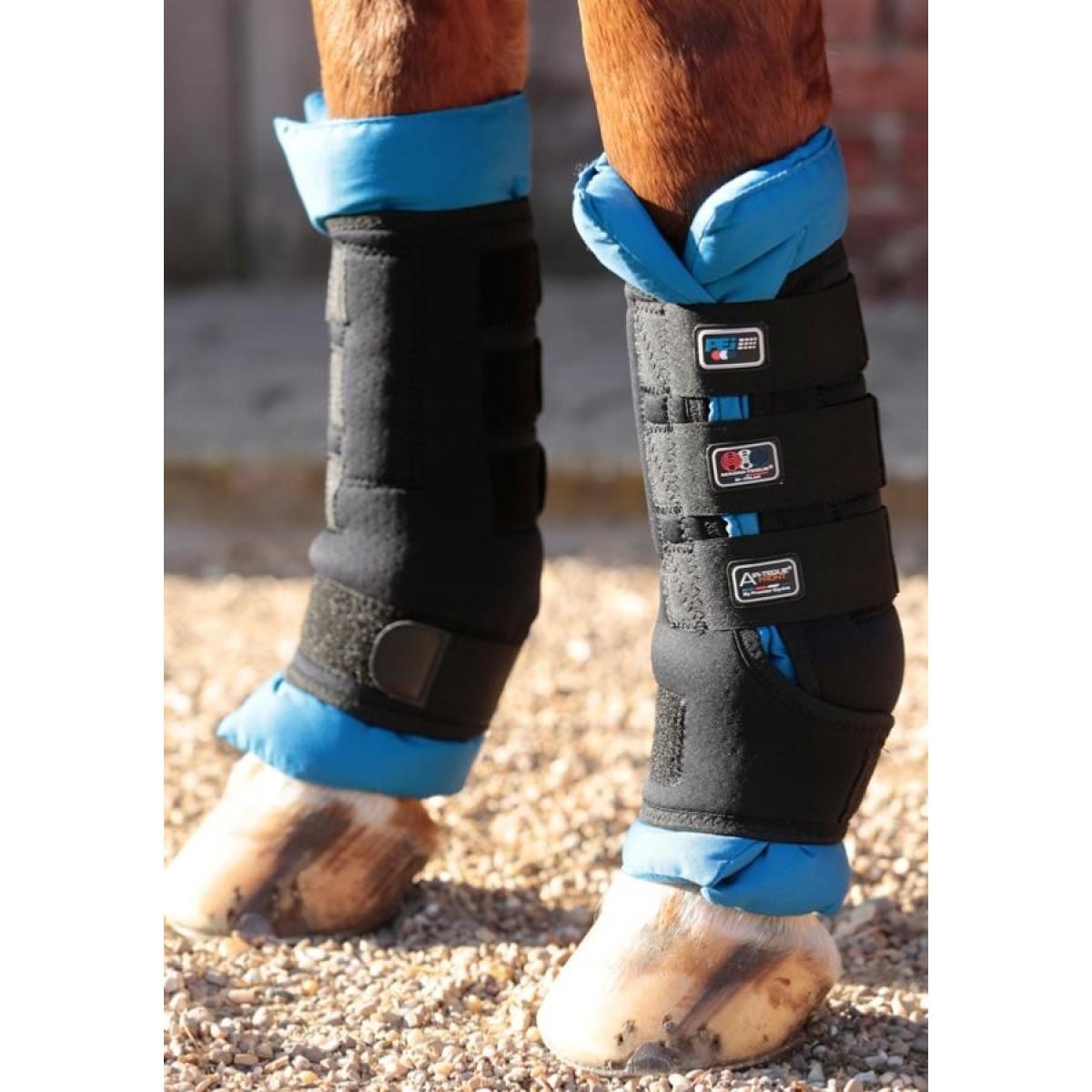 Premier Equine magnet gamacher/underlag til hestens ben