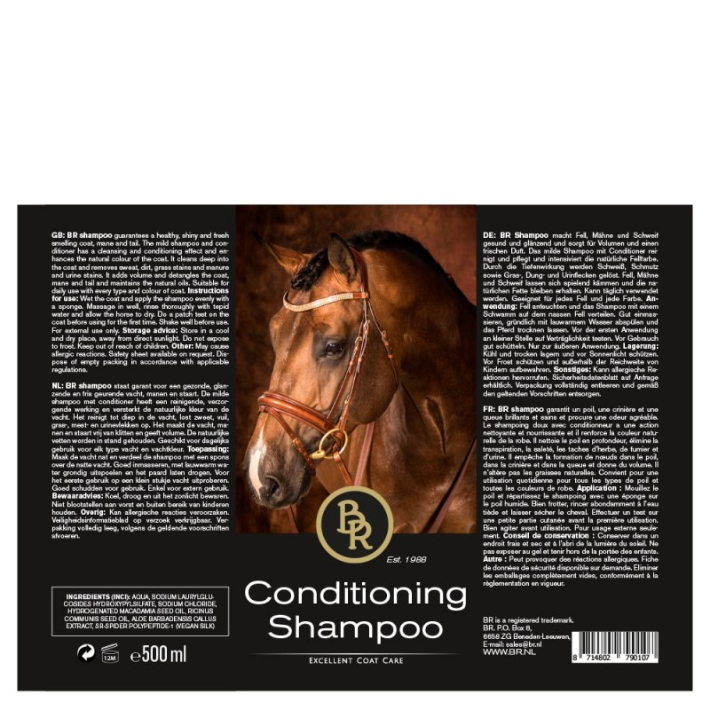 BR Conditioning Shampoo 500 ml