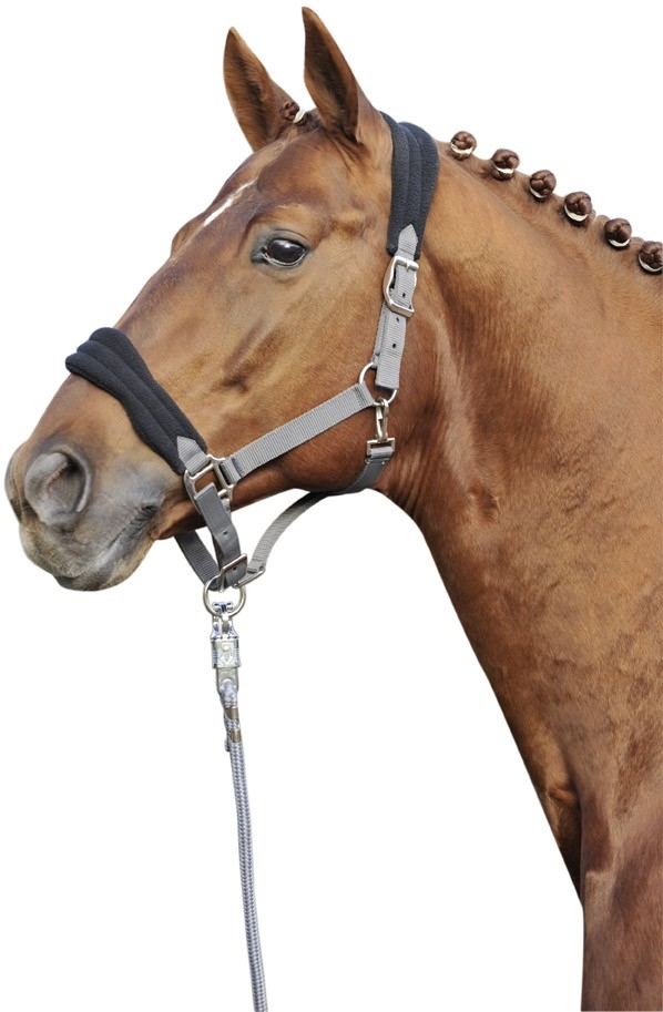 HKM Fleece grime str. pony