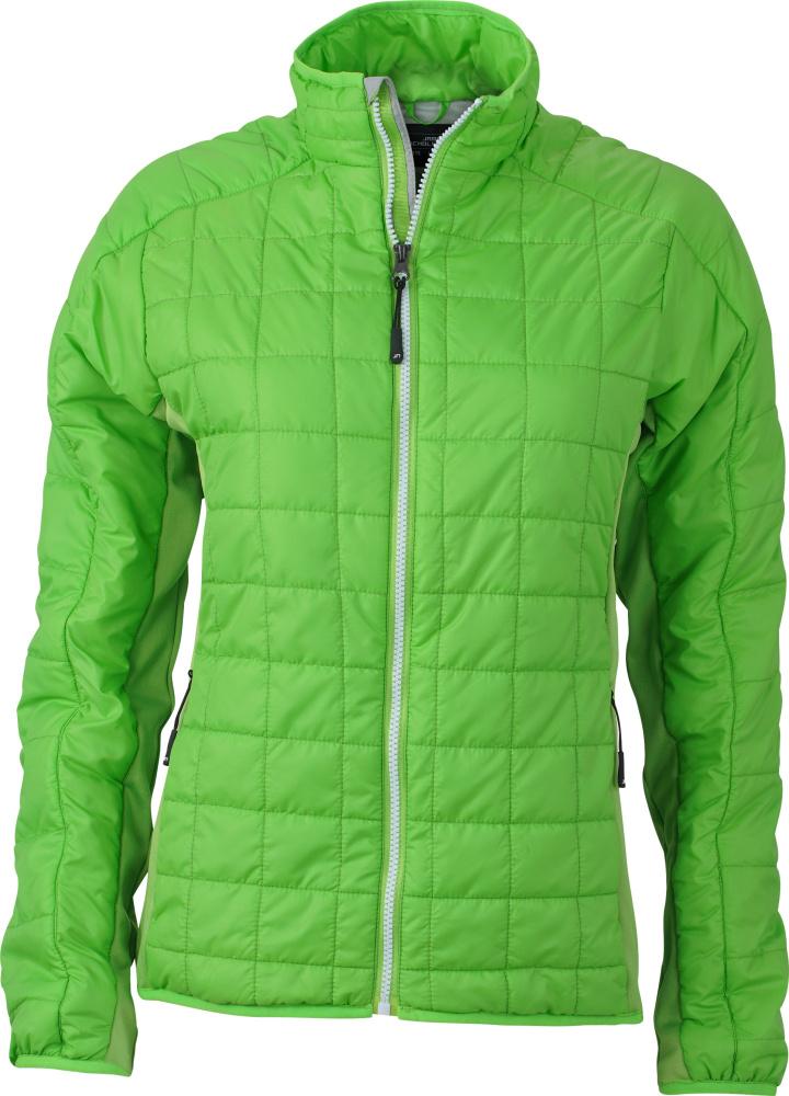 James & Nicholson – Ladies' Hybrid Jacket