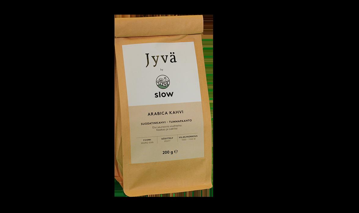 Slow kahvi, jauhettu 200g