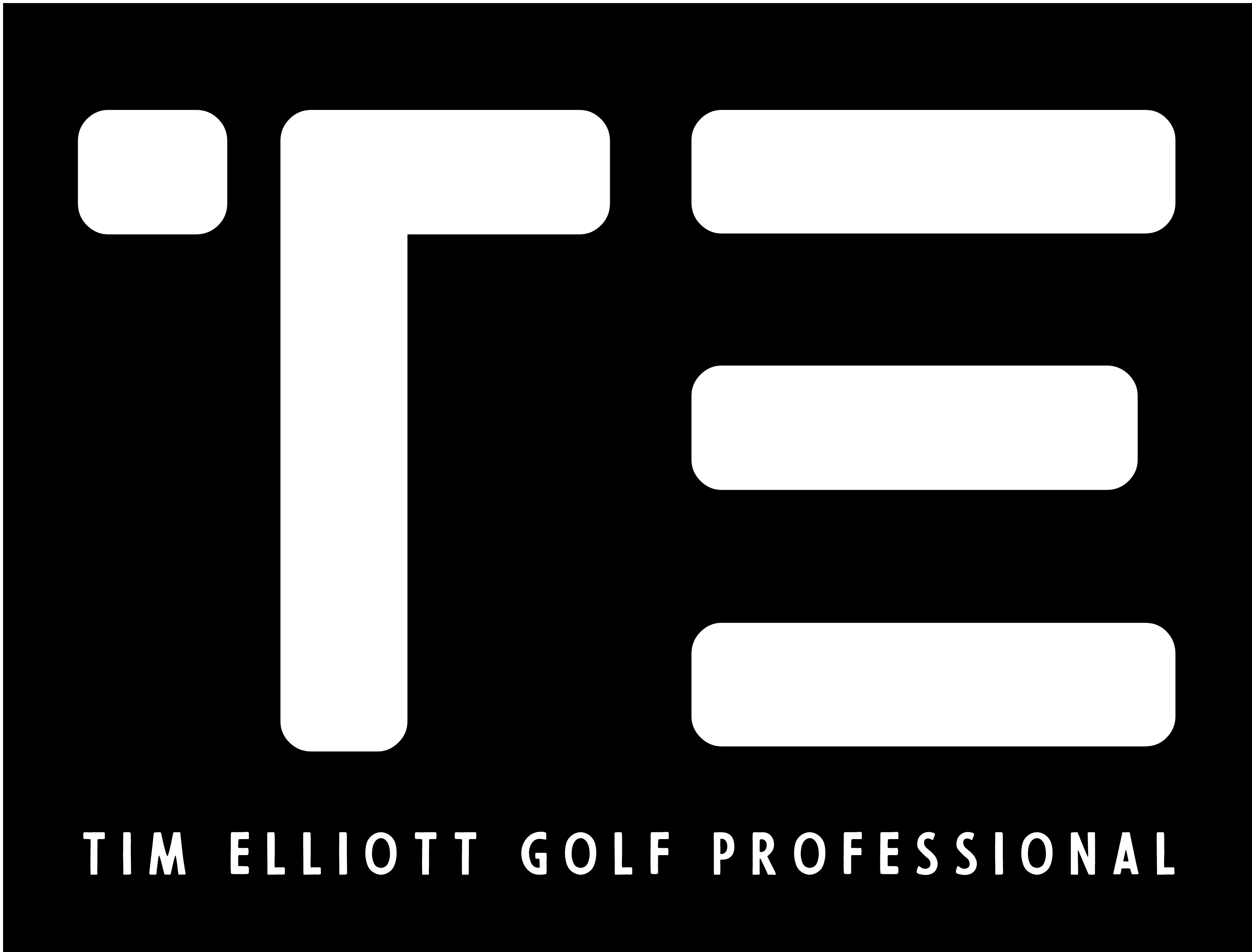 Tim Elliott Golf Professional