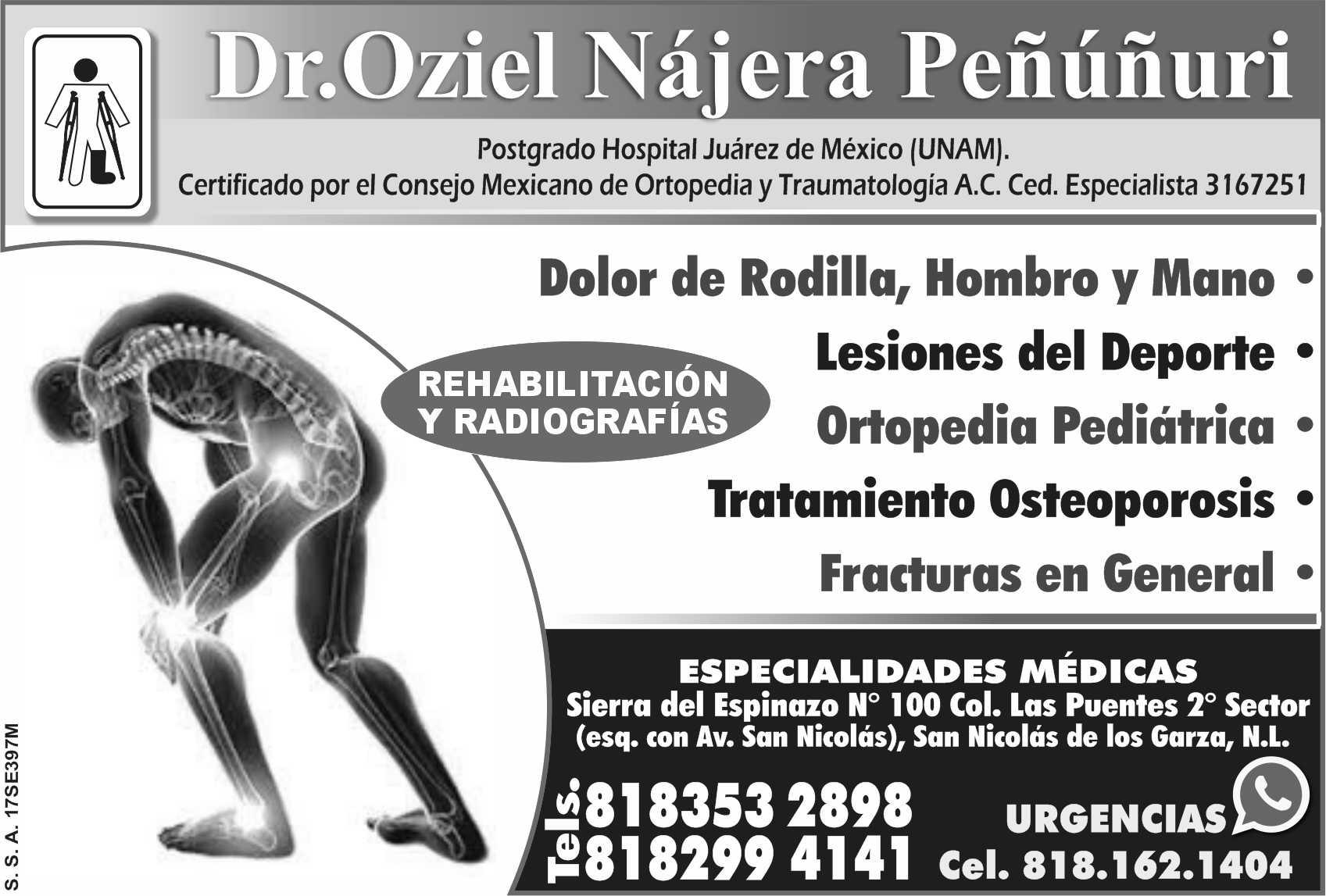 Dr OZIEL NAJERA PENUNURI