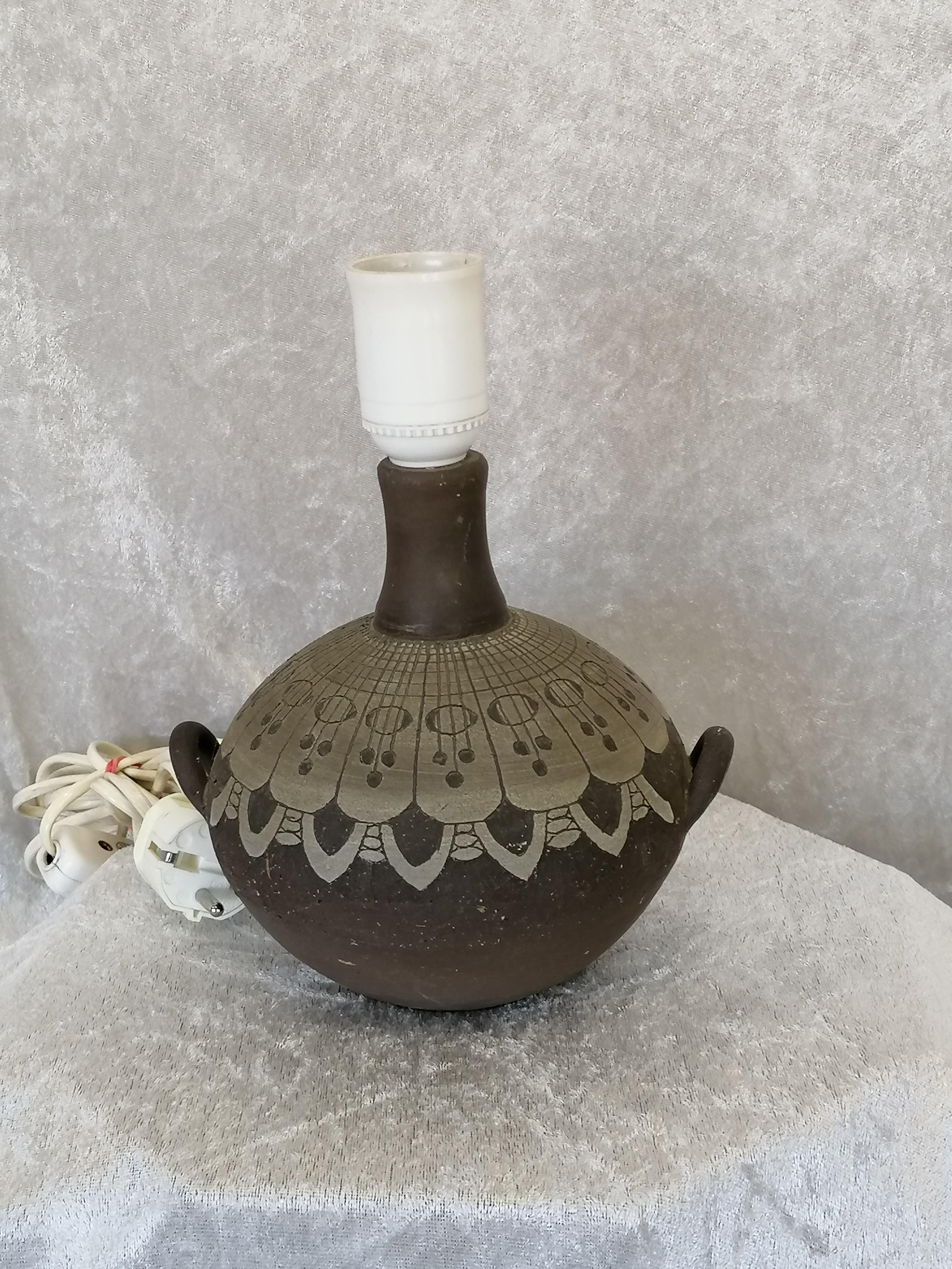 Lampfot Alingsås Keramik