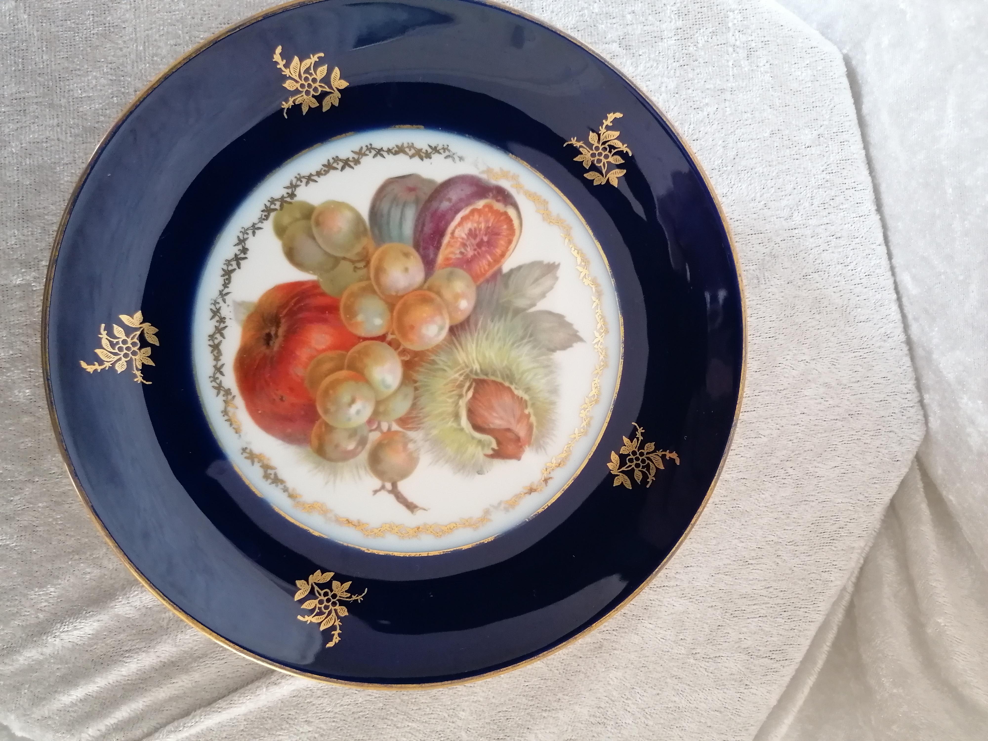 Assiett Rosenthal pompadour