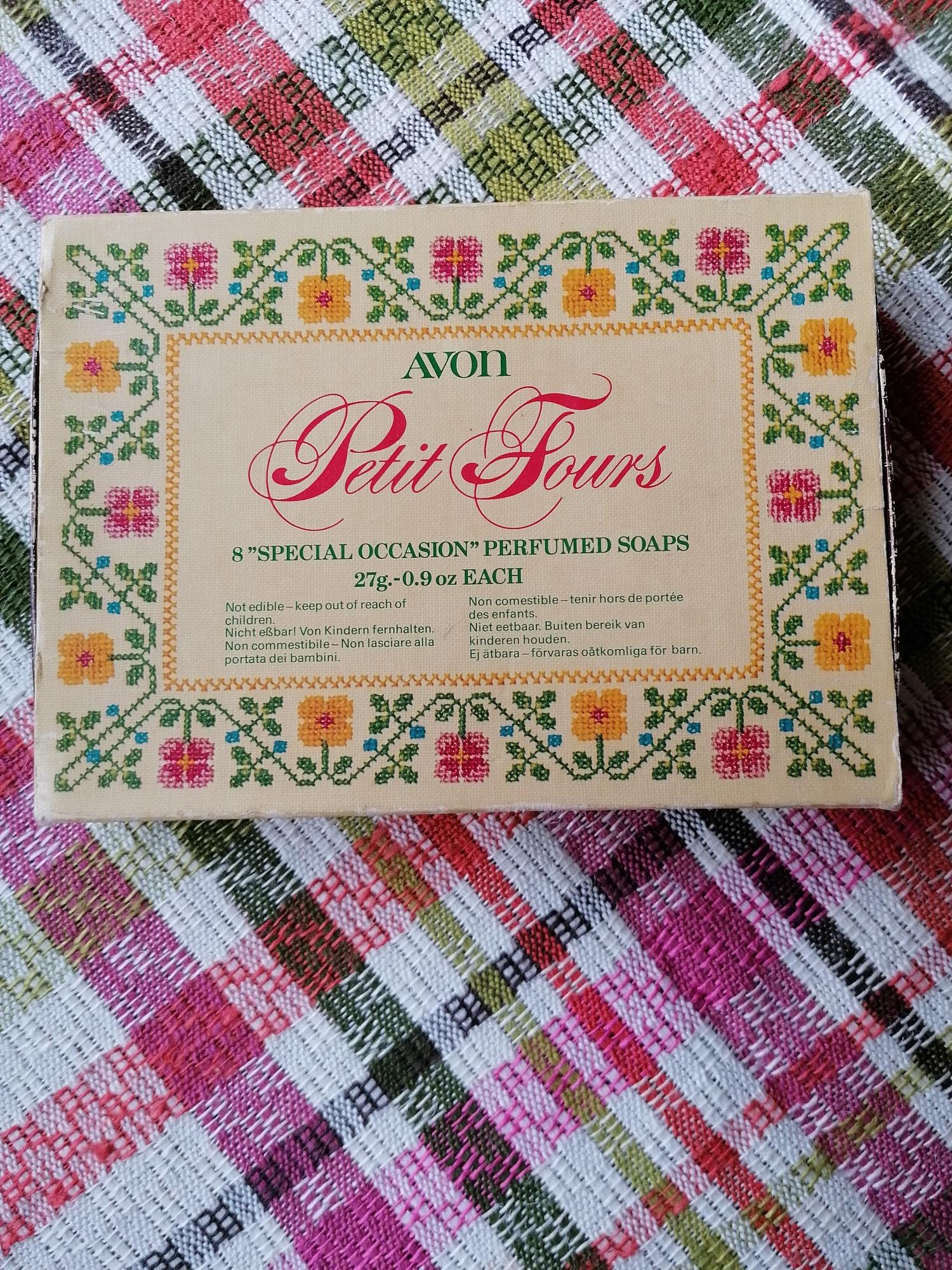 Petit Fours tvålar från Avon retro