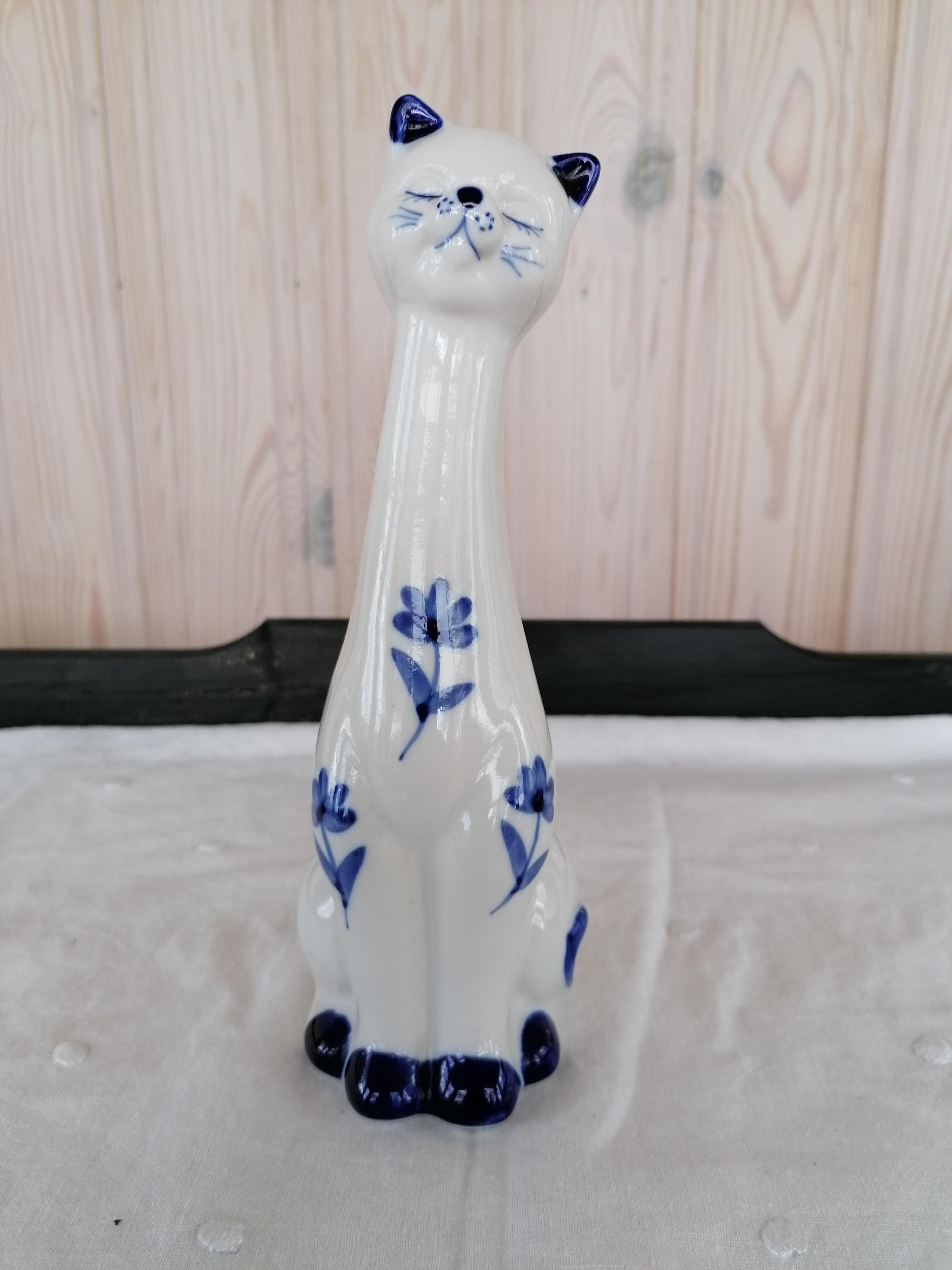 Katt porslin