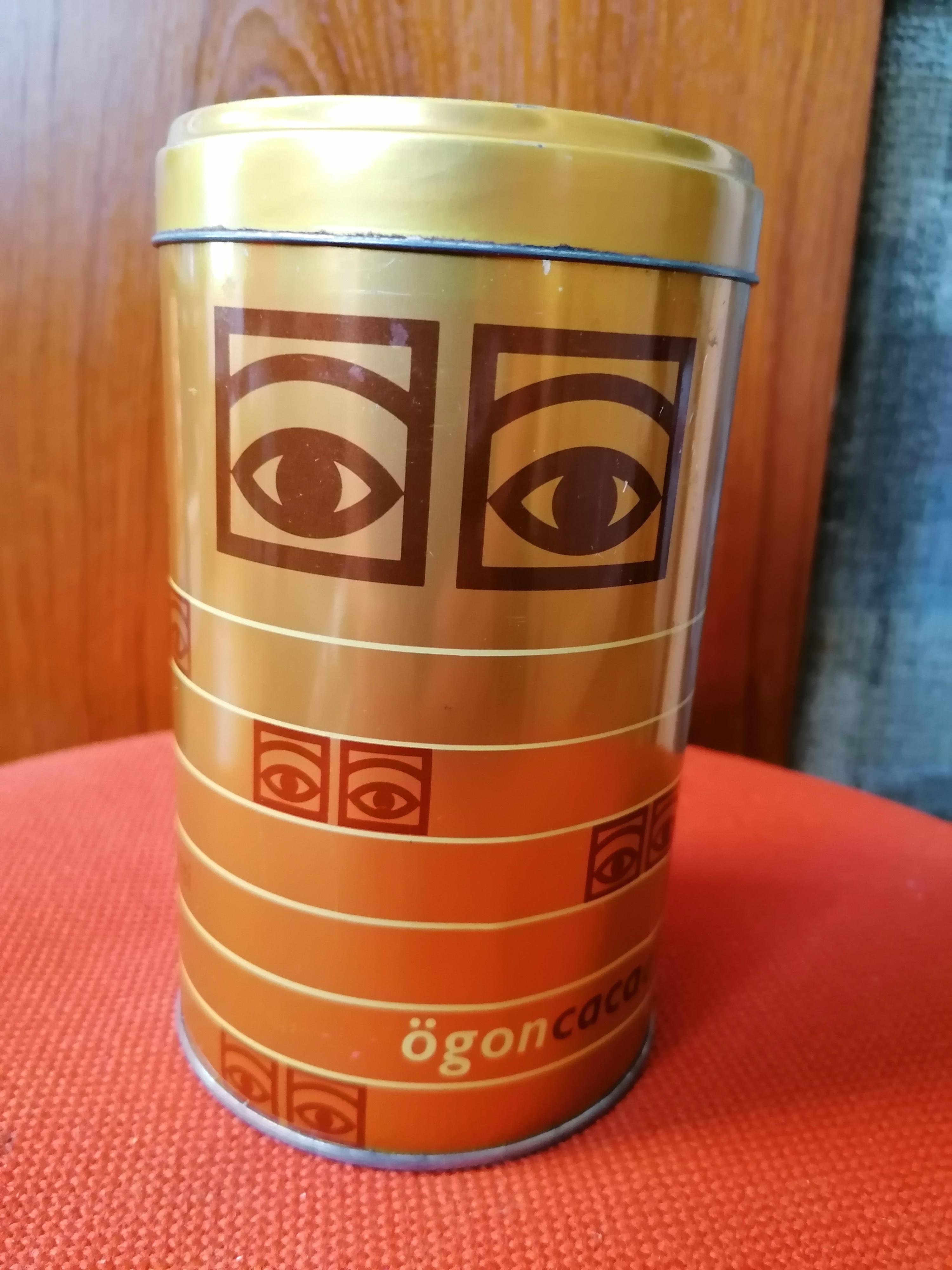 Plåtburk Ögonkakao 50-tal