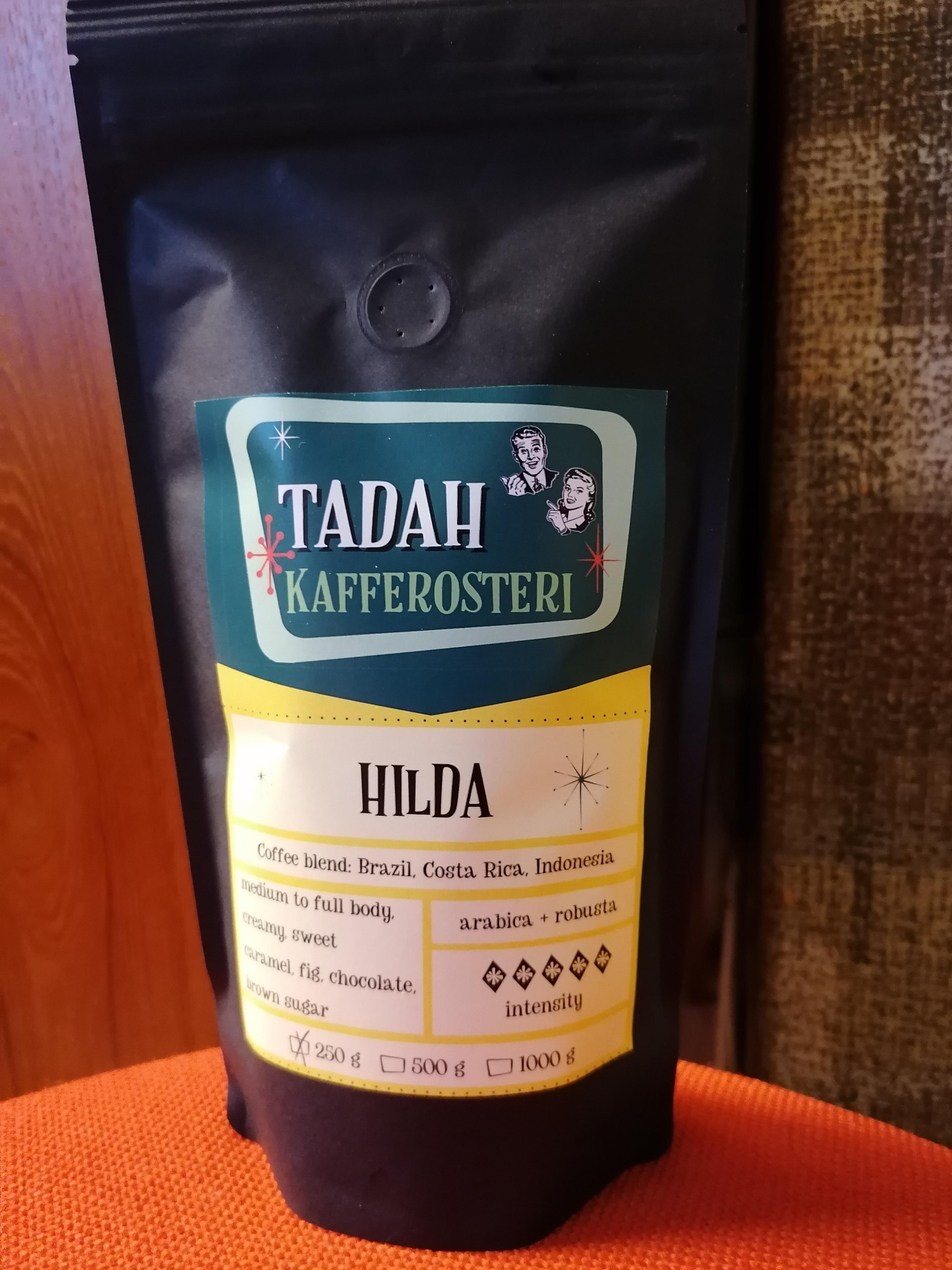 Tadahs Kaffe Hilda hela bönor