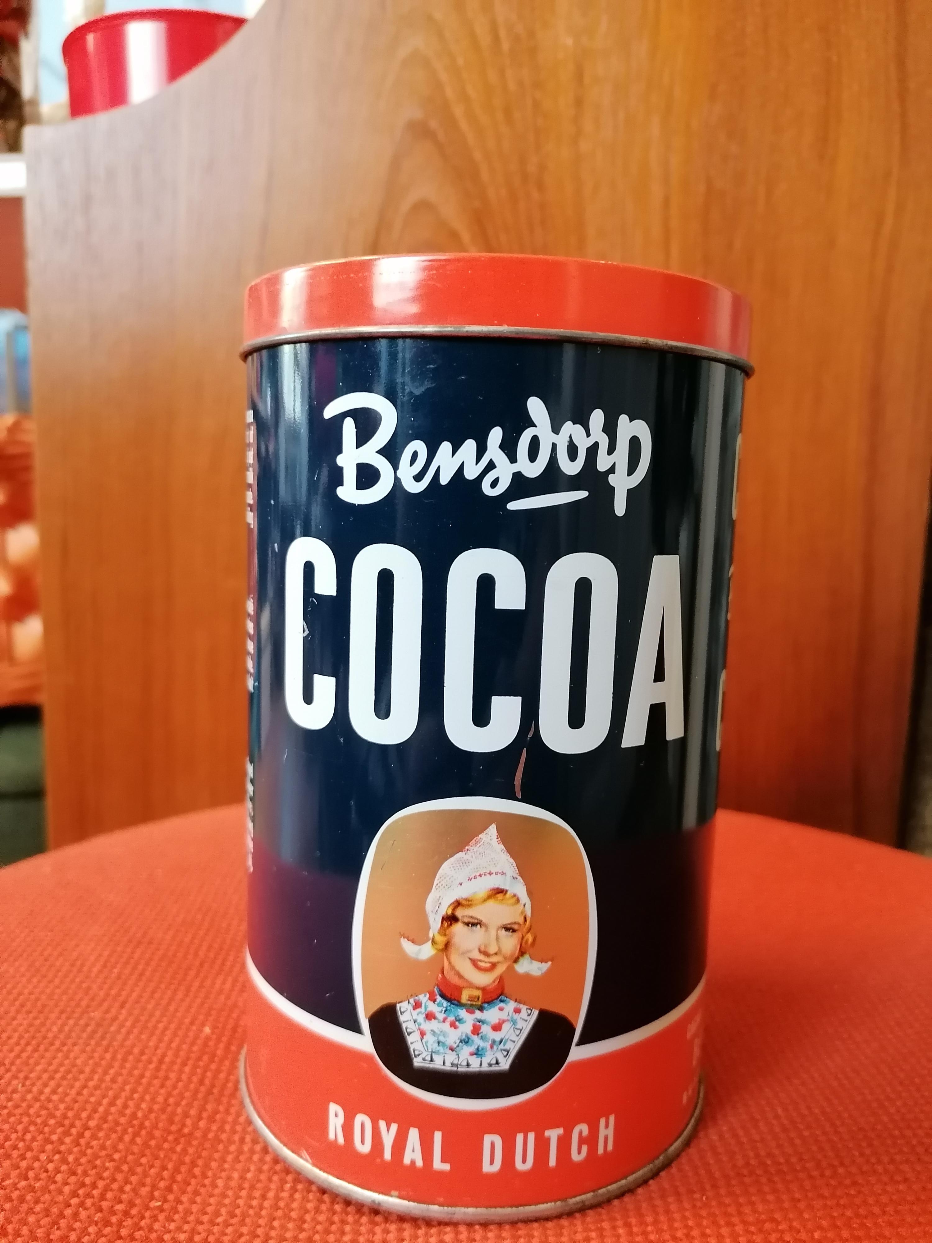 Cacao burk från Bensdorp