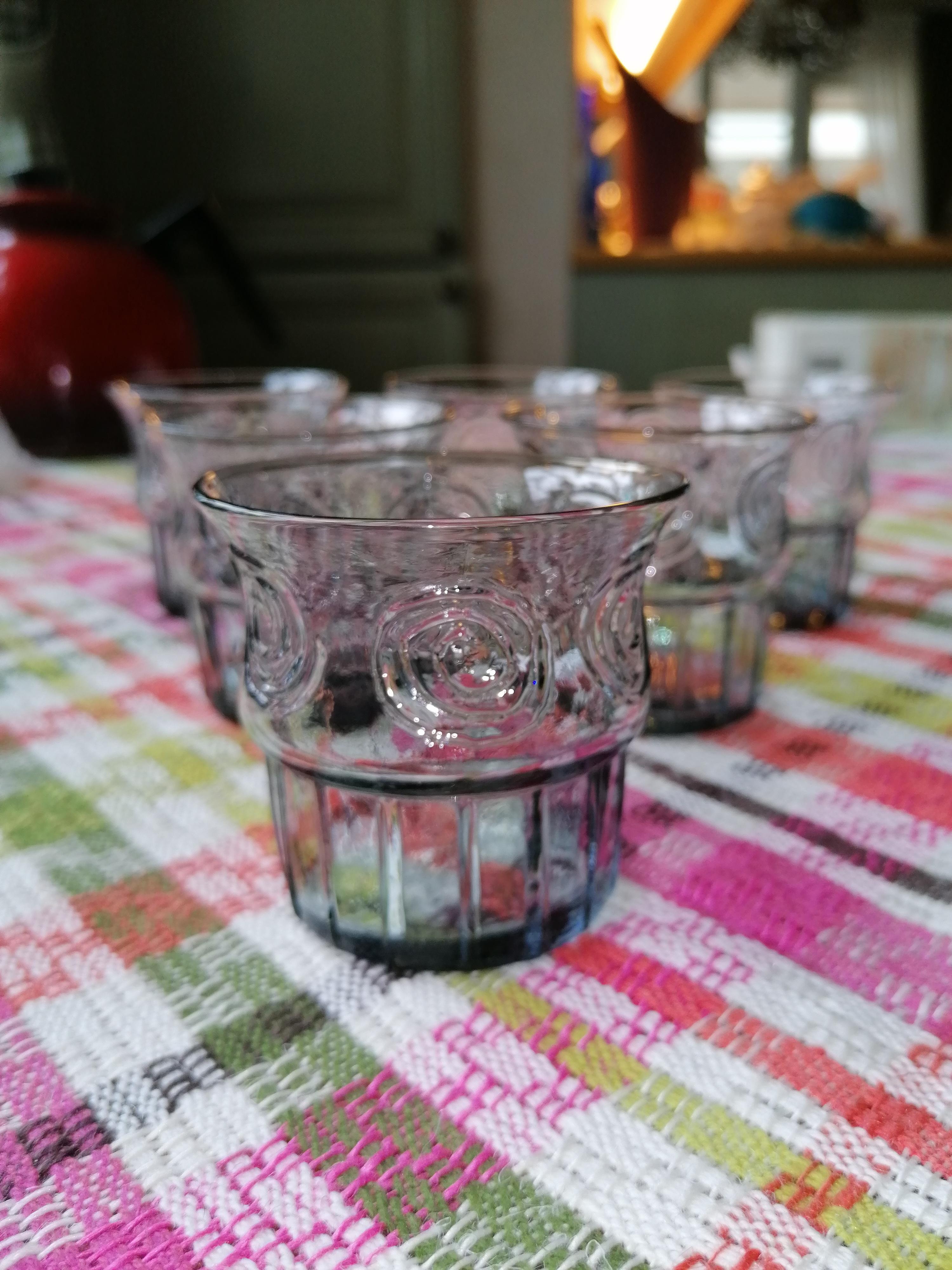 Dricksglas ev från Björkhults glasbruk